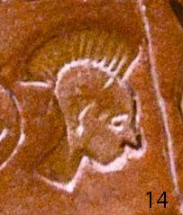 Загадочное лицо «славянина» на Фестском диске