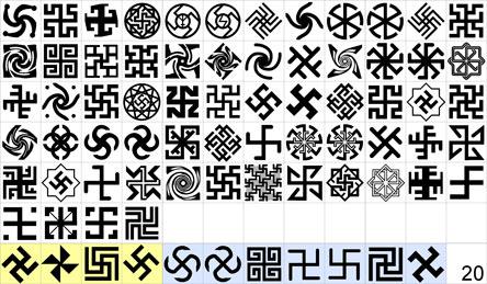 Знаки, выдаваемые за древне-славянские.