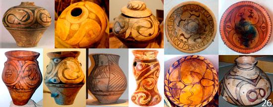 Изображения на предметах культуры Триполья