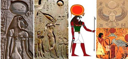 Культ Солнца в древнем Египте