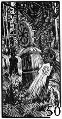 Гравюра Станислава Якубовского 1923 г. – самое «древнее» изображение коловрата